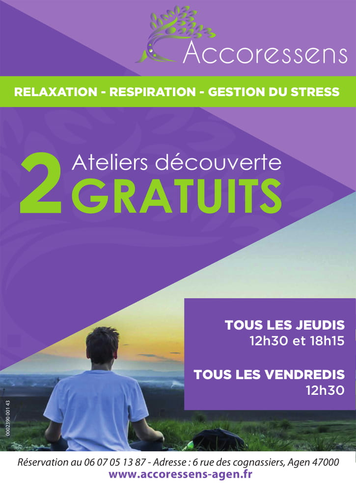 gestion du stress Agen